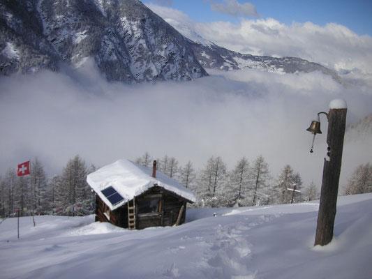 Einsiedelei im Winter