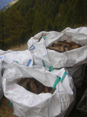 Big-Bags Brennholz