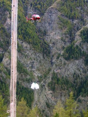 Air Zermatt Brennholz