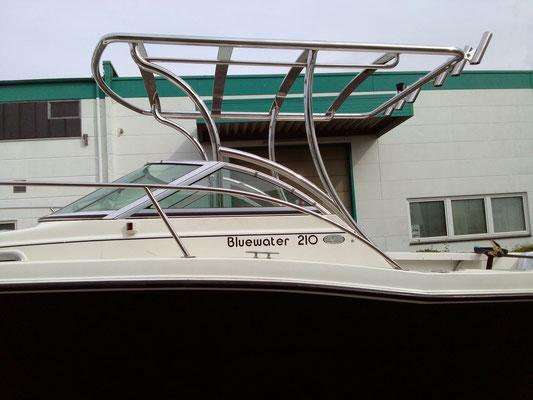 Bootsaufbau inkl. Rutenhalter für Hochseefischerei