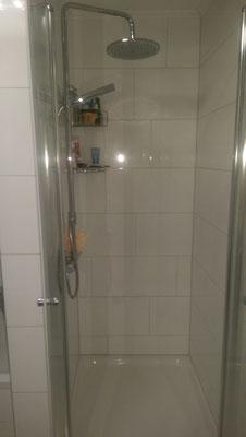 Impression Dusche - nach Fertigstellung