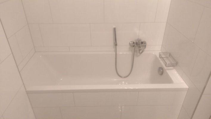 Impression Badewanne - nach Fertigstellung