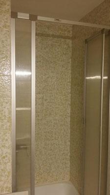 Impression Dusche - vor der Sanierung