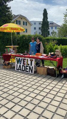Weltladen Bregenz beim Tag der offenen Tür von SYMBIOFIT