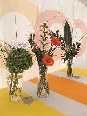 Blumendeco im VIP Bereich