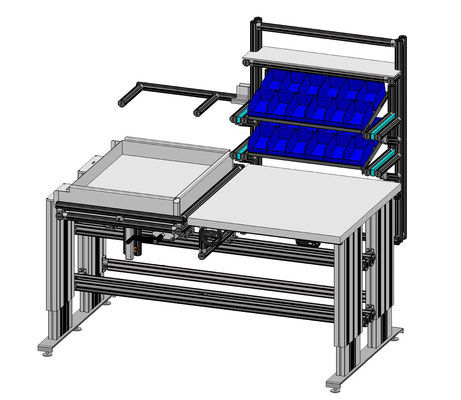 High Table mit Schwenkvorrichtung