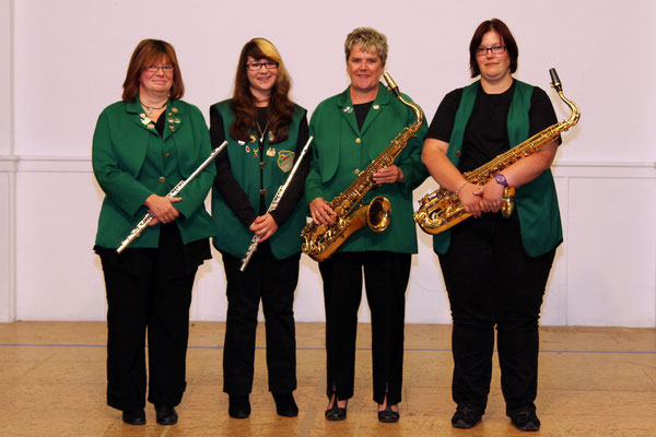 Saxofone/ Flöten (Foto: G. Simons)