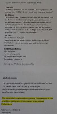 Anleitung zur Performance