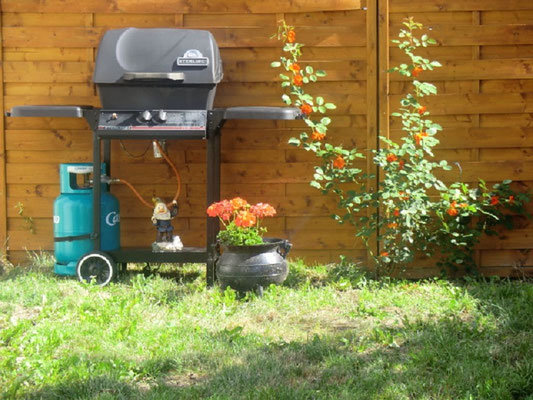 Lou Filadour à Jausiers - barbecue à gaz