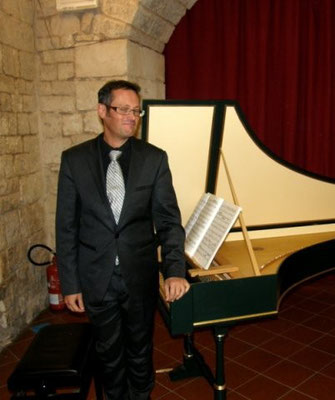Jean Marc Aymes, clavicembalo
