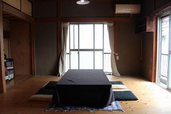 2階は個室としてご利用いただいております