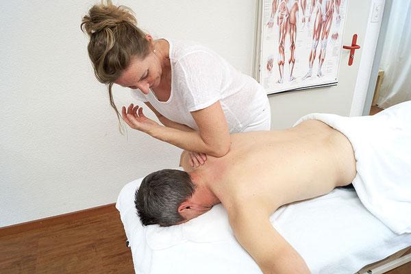 Sportmassage in der Gesundheits-Oase Baldingen, Nähe Bad Zurzach, Lengnau, Döttingen