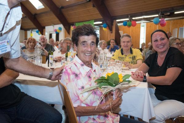 Partecipante più anziana, 96 anni