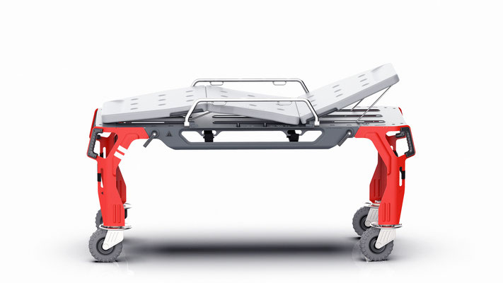 Produktdesign, Industrial Design, Mobile Cart for special rescue application