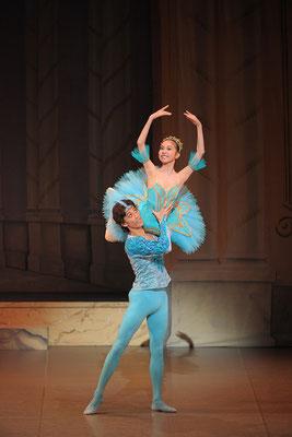 第12回発表会 - 『眠れる森の美女』より「フロリナ王女と青い鳥」