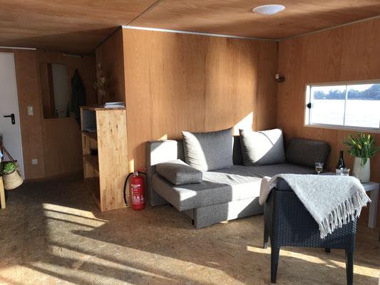 Wohnbereich Hausboot 3