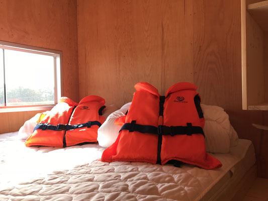 Doppelbett für 2 Personen (separater Raum)