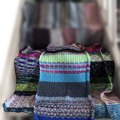 Restedecke, blanket, knitted blanket, gestrickte Decke, Kuscheldecke