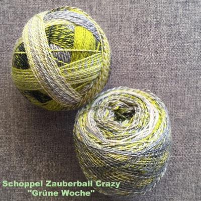 "Schoppel Zauberball Crazy ""Grüne Woche"""