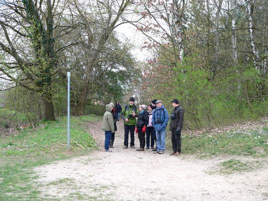 H. Türschmann im Gespräch mit Teilnehmern, Foto: U. Postler