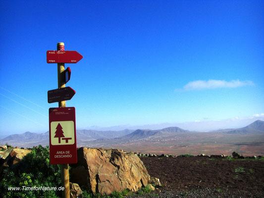 Wanderwege auf Fuerteventura