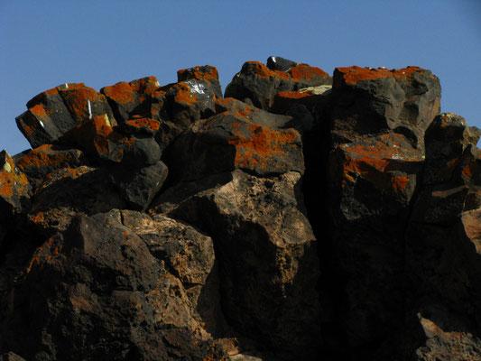 Vulkanische Gesteinformationen