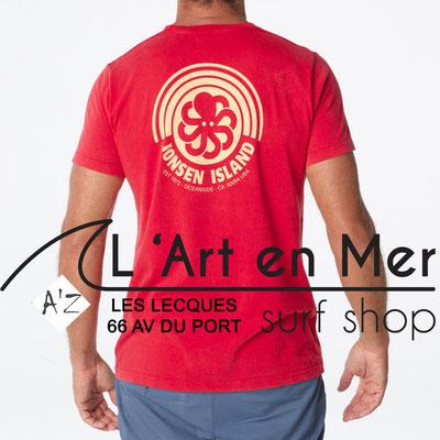 L' Art en Mer Jonsen island 2020 t-shirt-classic-rainbow-red
