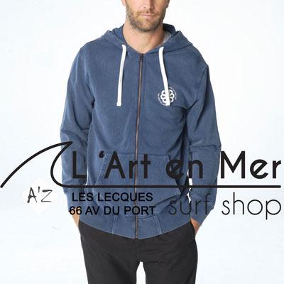 L' Art en Mer Jonsen island 2020 sweatshirt-hooded-zip-fresh-rounded-navy