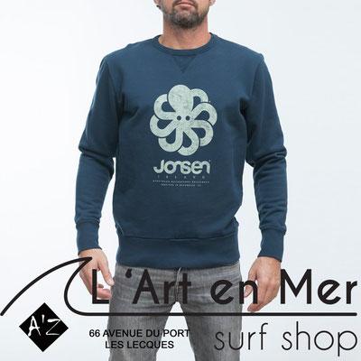 Jonsen island sweatshirt-gustavo-big-navywhite
