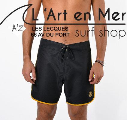 L'Art en Mer Surf Shop Les Lecques Jonsen Island-jon-one-classic-black yellow