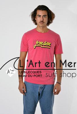 L'Art en Mer Surf Shop Les Lecques Jonsen Island t-shirt-classic-bubble-purple-fade-out