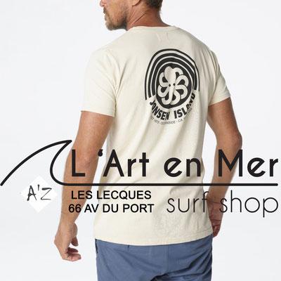 L' Art en Mer Jonsen island 2020 t-shirt-classic-rainbow-sand