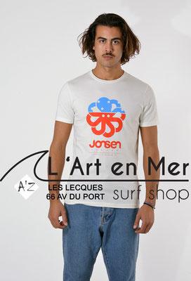 L'Art en Mer Surf Shop Les Lecques Jonsen Island t-shirt-classic-big-art-coconut