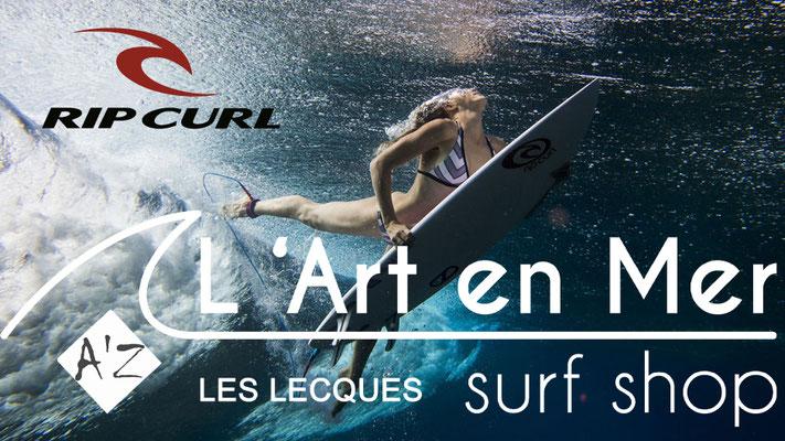 L'art en mer concept store Surf Shop Les Lecques Saint Cyr sur Mer maillots de bains femmes Ripcurl