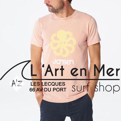 L' Art en Mer Jonsen island 2020 t-shirt-classic-big-peach