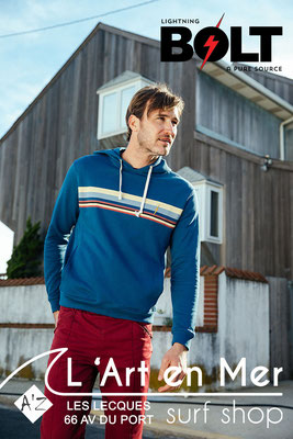 Lightning Bolt collection hommes surf shop L'Art en Mer Les Lecques