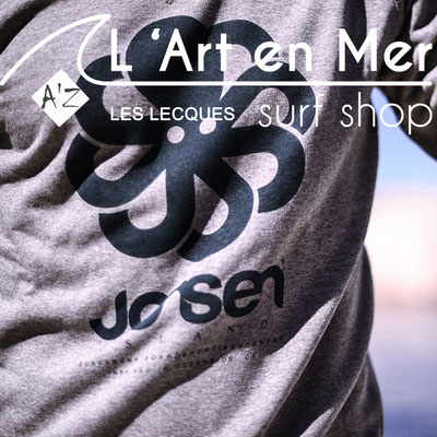 L'art en mer concept store Surf Shop Les Lecques Saint Cyr sur Mer Jonsen Island Falco Heather grey