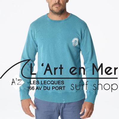 L' Art en Mer Jonsen island 2020 sweatshirt-gustavo-mercury-white