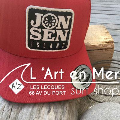 Jonsen island casquettes trucker-hat-p-red
