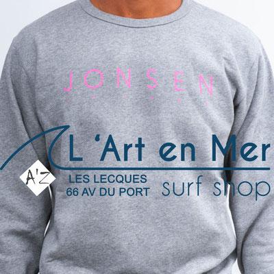 L'Art en Mer Surf Shop Les Lecques sweatshirt-gustavo-simple-hgr 2020