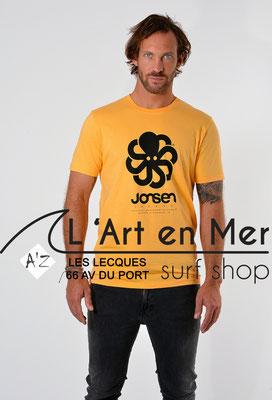 L'Art en Mer Surf Shop Les Lecques Jonsen Island t-shirt-classic-big-apricot