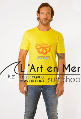 L'Art en Mer Surf Shop Les Lecques Jonsen Island t-shirt-classic-super-big-yellow