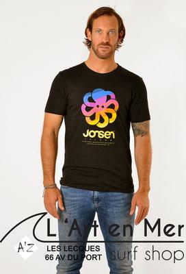 L'Art en Mer Surf Shop Les Lecques Jonsen Island t-shirt-classic-big-art-black-fade-out