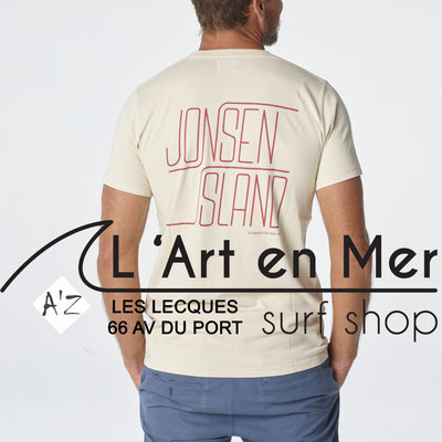 L' Art en Mer Jonsen island 2020 t-shirt-classic-santa-barbara-sand