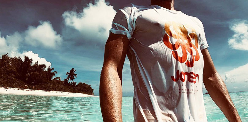 T-shirts Jonsen Island L'Art en Mer Surf Shop Les Lecques