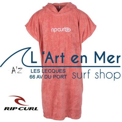 Ripcurl combinaisons et ponchos de bains femmes L'Art en Mer surf Shop Les Lecques