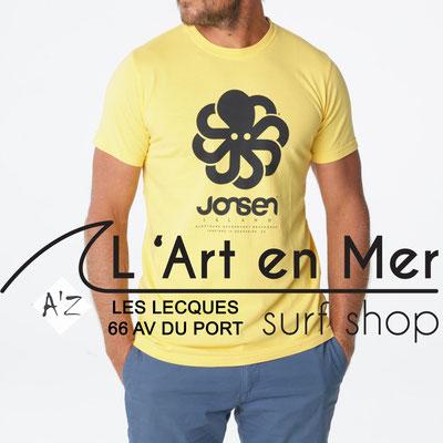 L' Art en Mer Jonsen island 2020 t-shirt-classic-big-yellow