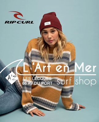 Ripcurl L'Art en Mer Surf Shop Les Lecques