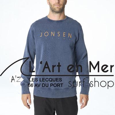 L' Art en Mer Jonsen island 2020 sweatshirt-gustavo-simple-navy