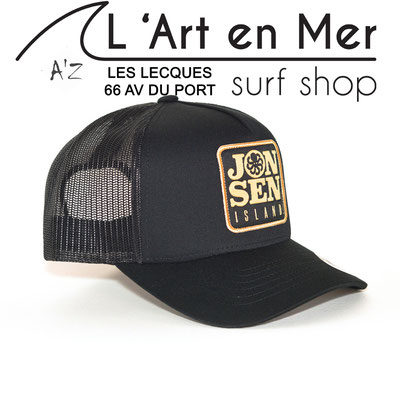 L' Art en Mer Jonsen island casquettes 2020 trucker-hat-p-black